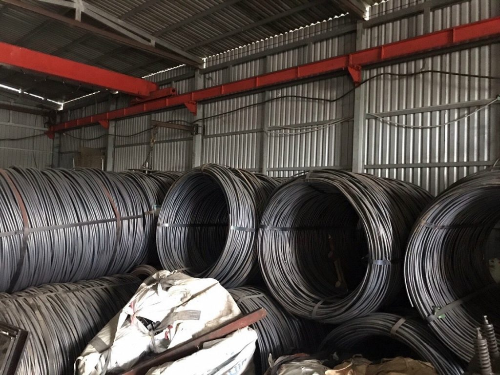 Vật liệu chính sản xuất tán chuồn và ty ren của Phụ Kiện Và Cốp Pha Việt